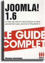 Joomla 1.6 - Le guide complet - Micro Application - MOSAIQUE Informatique