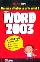 Word 2003 - Collection Super Poche